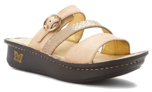 alegria sandal with rocker sole