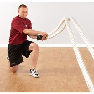 Heavy Rope Training is Great Exercise with Foot Pain