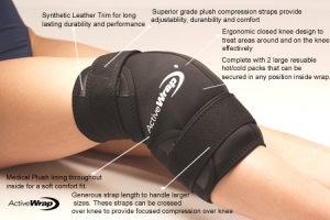 knee ice heat therapy