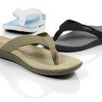 pregnancy feet flip flops