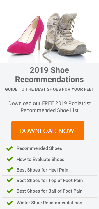 2019 Seattle Foot Ankle Center Podiatrist Recommended Shoe List