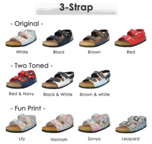 sandals that can be worn with orthotics