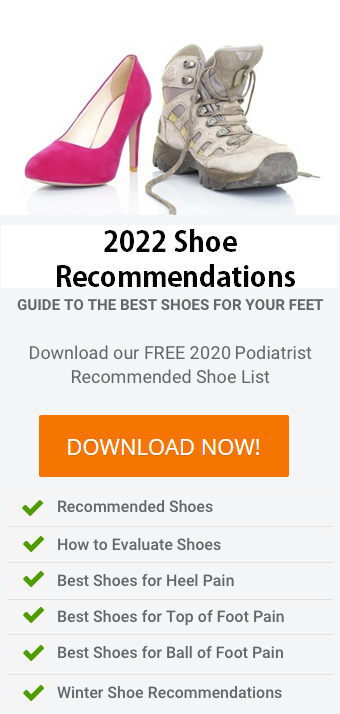 2020 Seattle Foot Ankle Center Podiatrist Recommended Shoe List